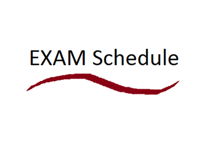 Revised Rotating Schedule for Senior and Junior Exams