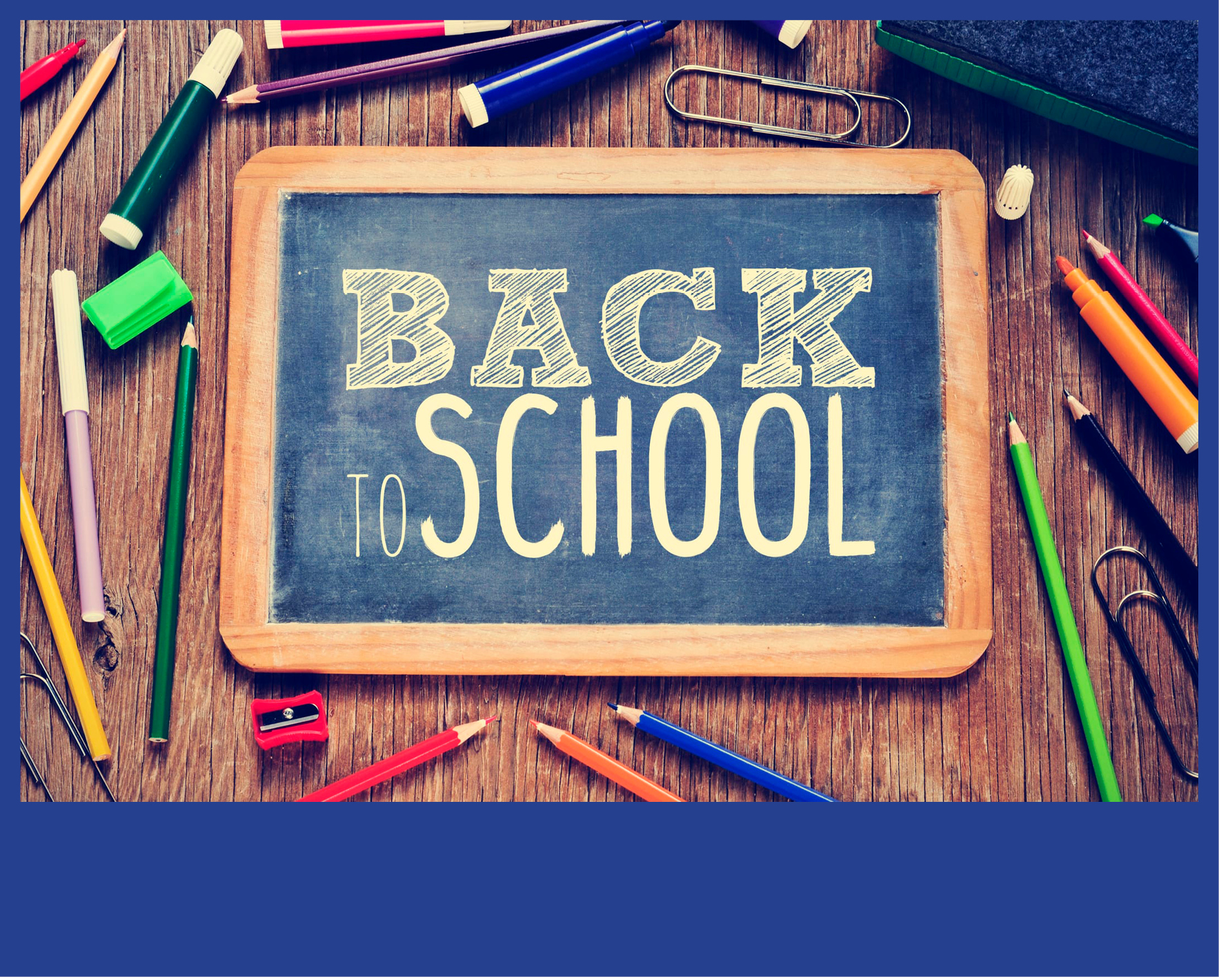 WELCOME HYBRID - Back to School