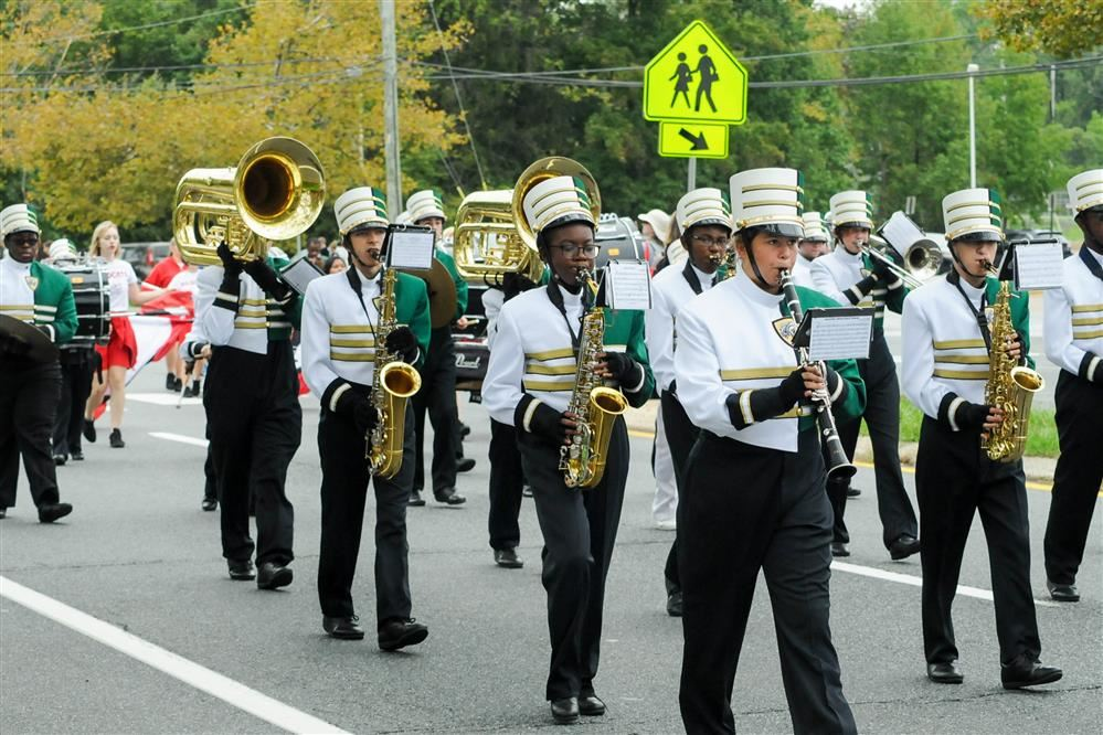 Mount Pleasant Marching Band