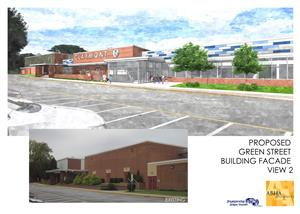 Claymont Construction Rendering