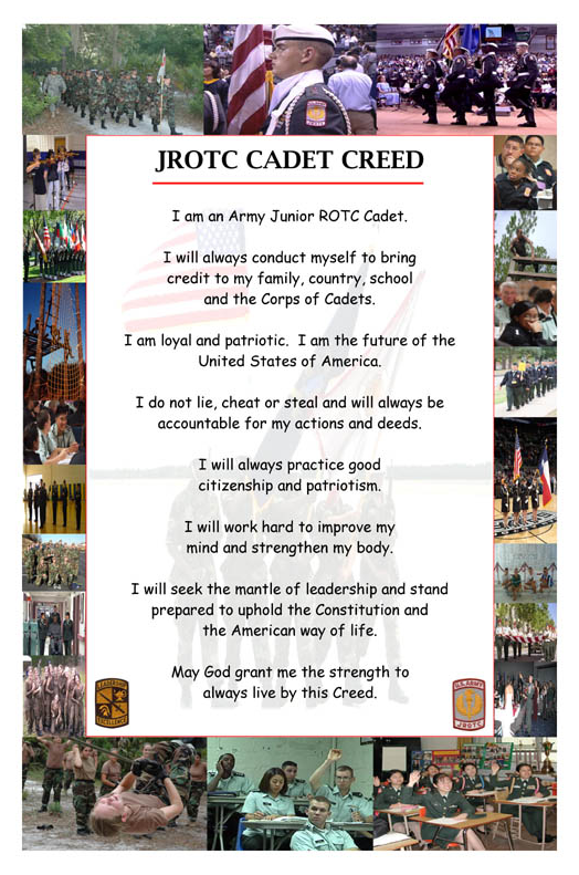 JROTC Student Creed