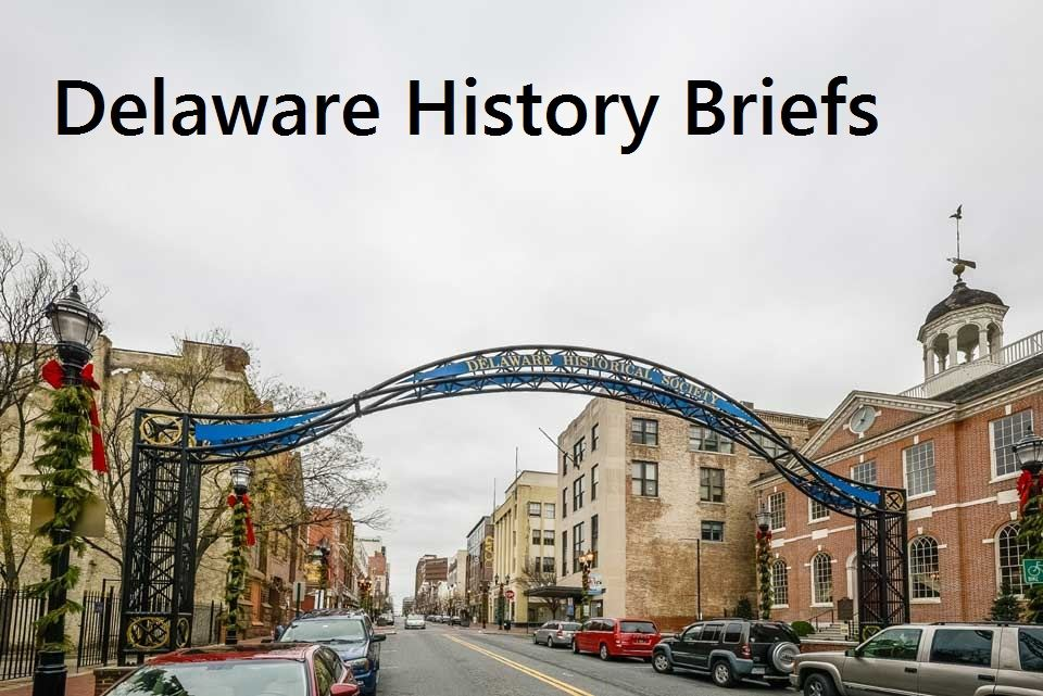 Delaware History Museum archway