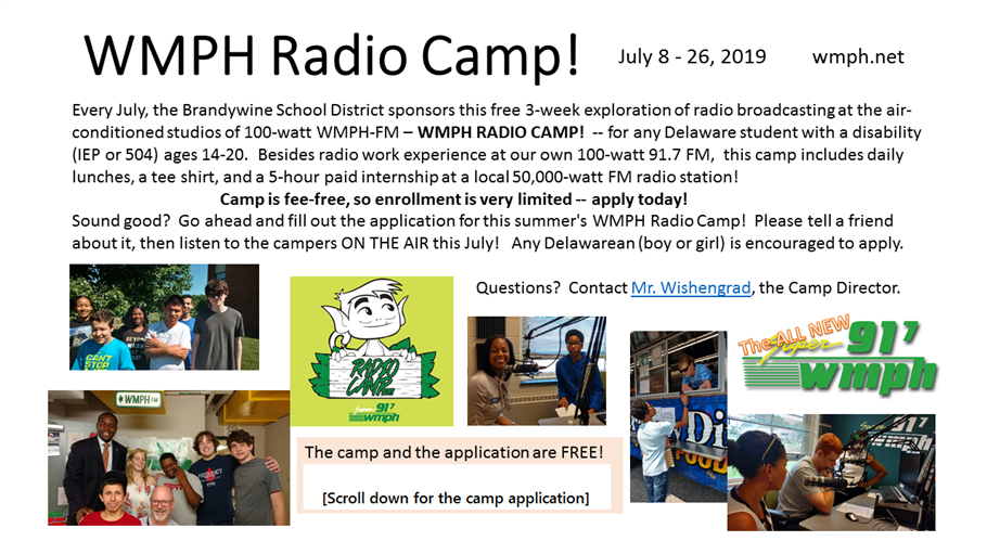 Radio Camp Flyer