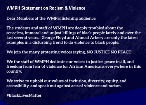WMPH Statement BLM