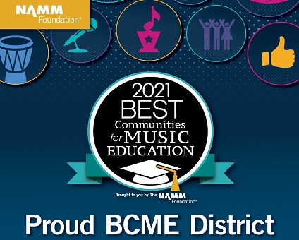 BSD Named a Best Community for Music Education