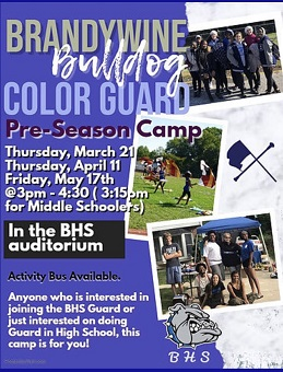 BHS Color Guard Information